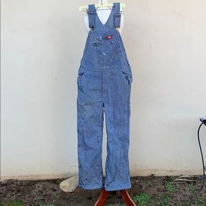 Striped dickies overalls ASIS